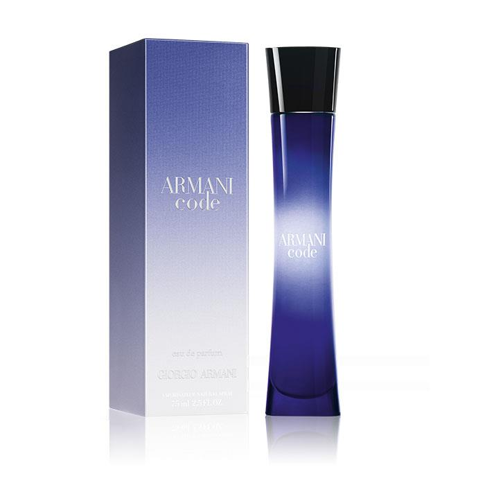 giorgio armani code eau de parfum 75ml spray. Black Bedroom Furniture Sets. Home Design Ideas