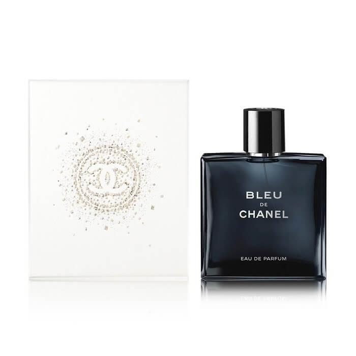 Chanel Bleu De Chanel Eau De Parfum Spray 100ml Gift Wrapped The