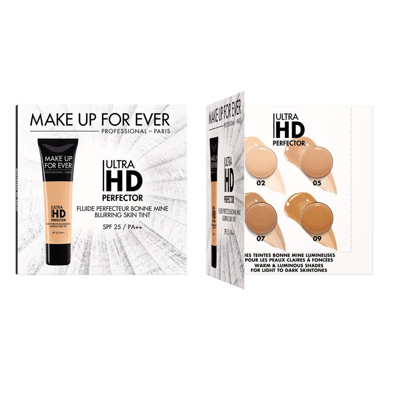 MAKE UP FOR EVER - Make Up For Ever Ultra HD Perfector Sample Card