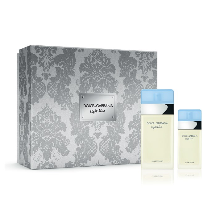 3d7f247c605e5 Dolce   Gabbana Light Blue Eau De Toilette 100ml Gift Set