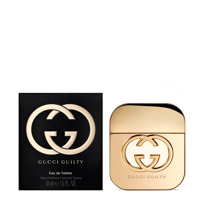 Gucci Guilty Perfume For Her 50ml The Fragrance Shop
